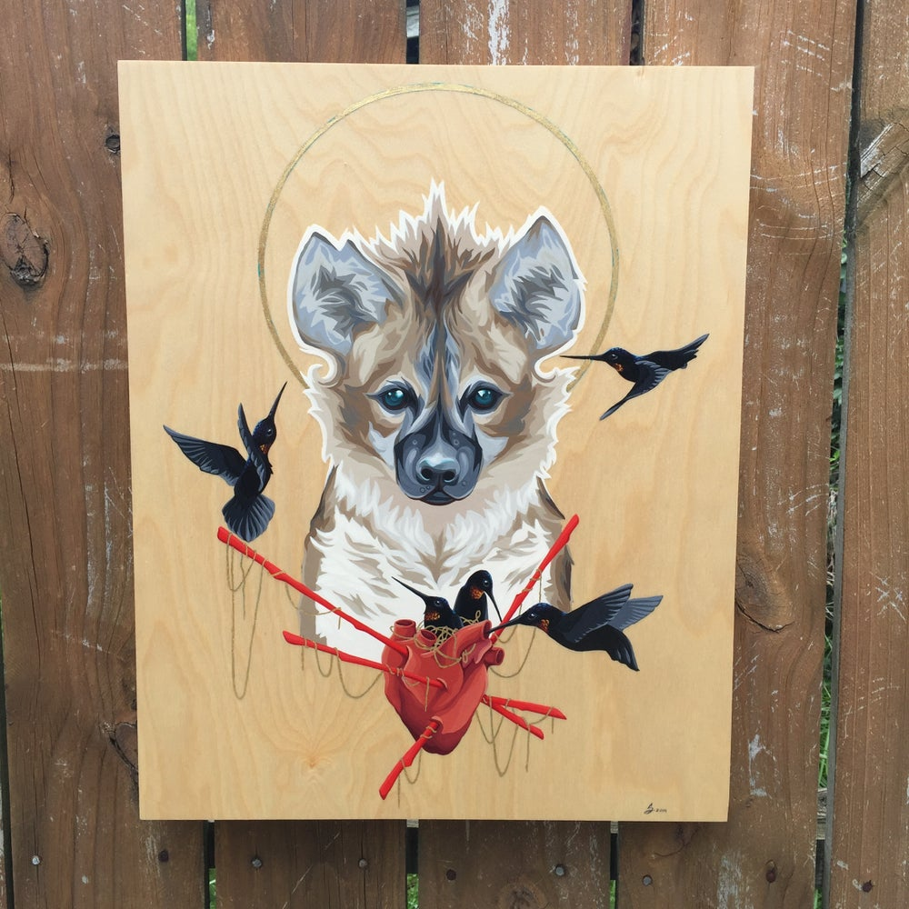 Image of 'St. Hyena' - Original Painting