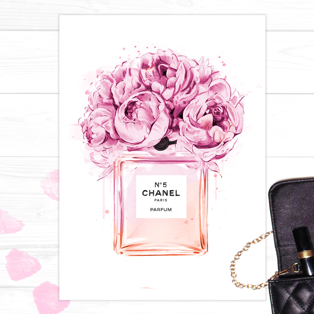 Image of Peonies à COCO Print