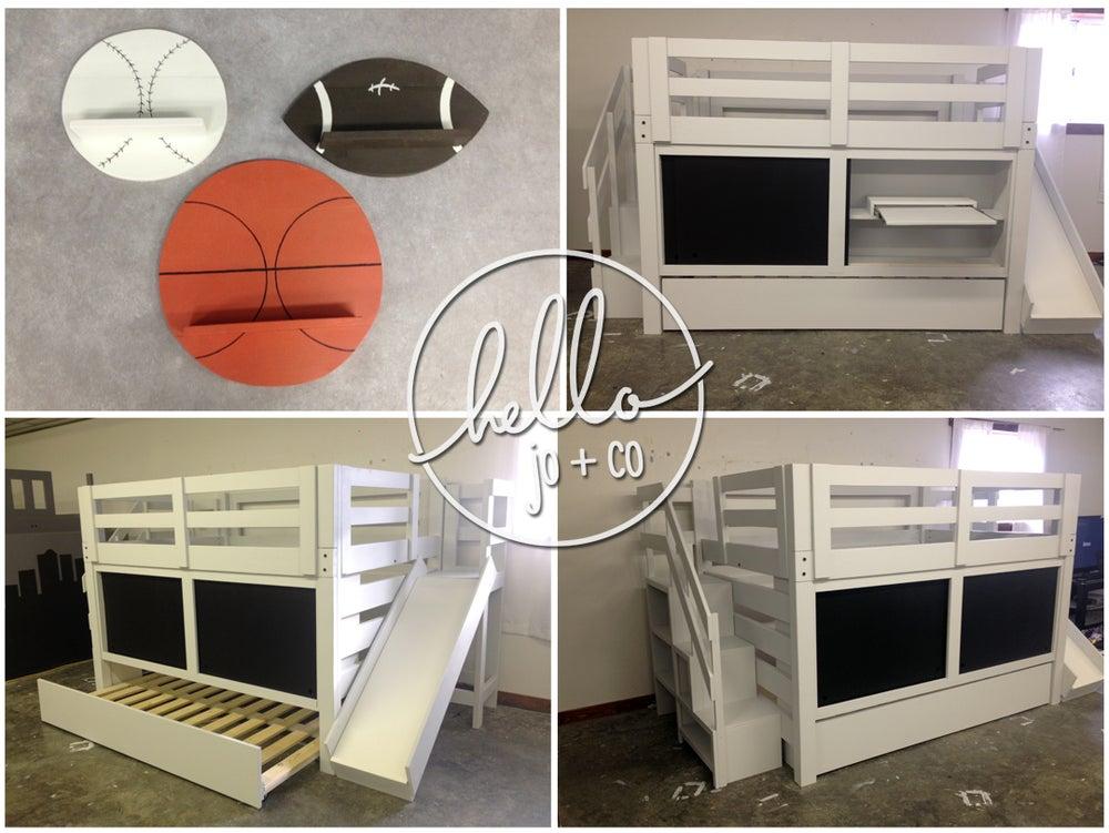 Image of Custom built bed listing for Tori