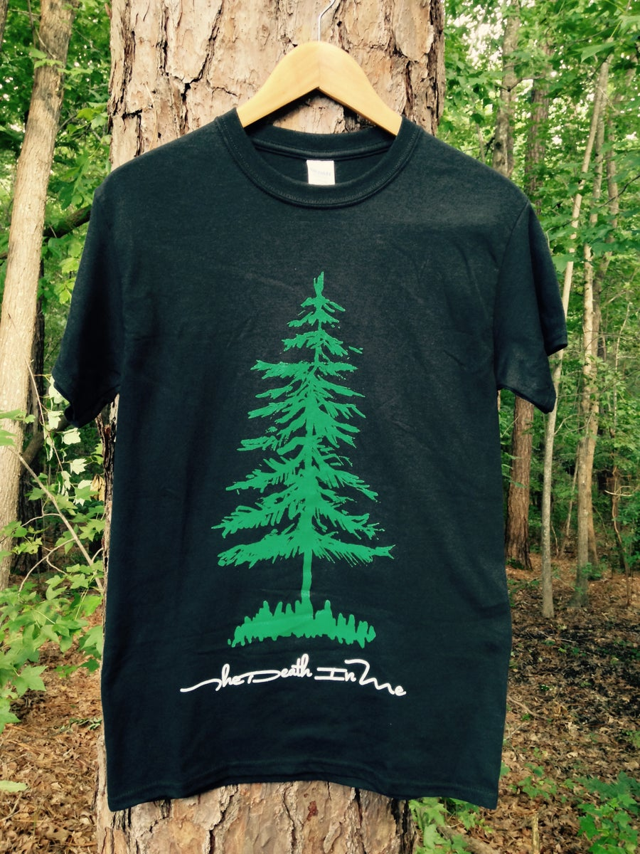 "Image of ""Album Tree"" Tee (Black)"