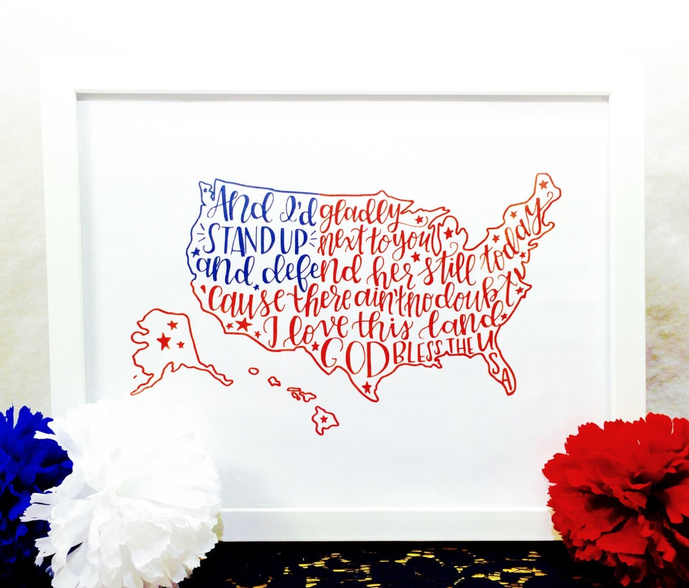 Image of USA Print