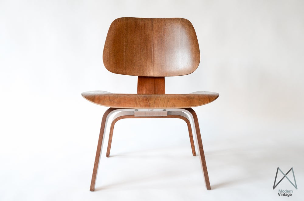 Image of Early Herman Miller LCW 5-2-4