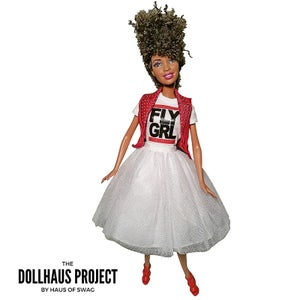 Image of FLY GRL Tapered Cut Fashion Collector Doll