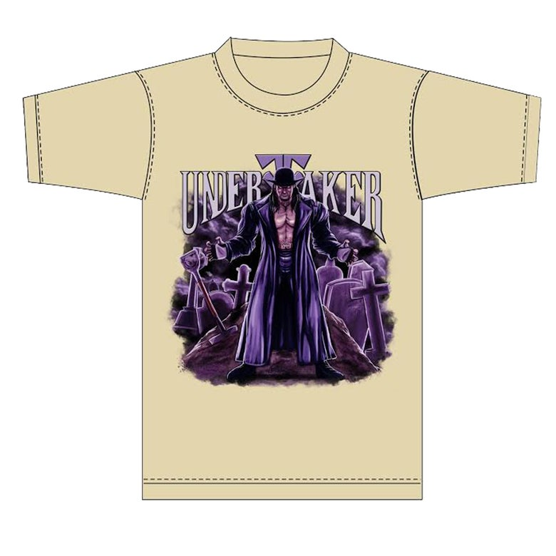 Image of UnderTaker Tshirt (Tan)