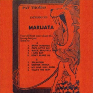Image of MARIJATA - Pat Thomas Introduces Marijata LP