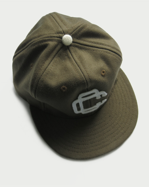 Image of NORTHBOUND CAP [OLIVE] BY EBBETS FIELD FLANNELS.