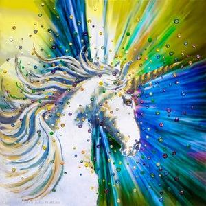 Image of Unicorn Magic Energy Painting - Giclee Print