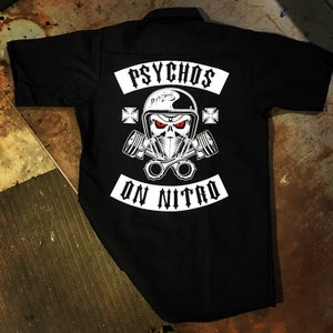 Image of Psychos on Nitro Work Shirt