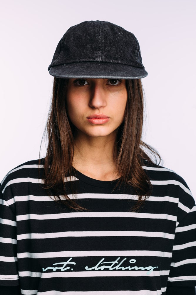 Image of The Vot 'washed out' denim six-panel