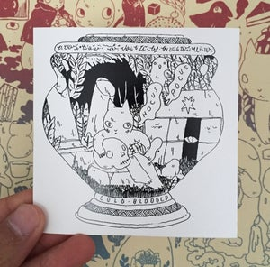 Image of Vase Sticker