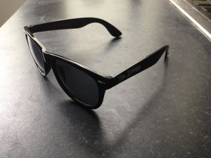 Image of 'Z-Ray Spex' clear sunglasses