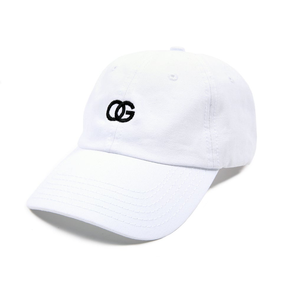 Image of  OG Low Profile Sports Cap - White