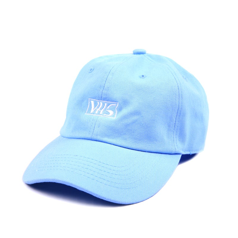 Image of VHS Low Profile Sports Cap - Blue