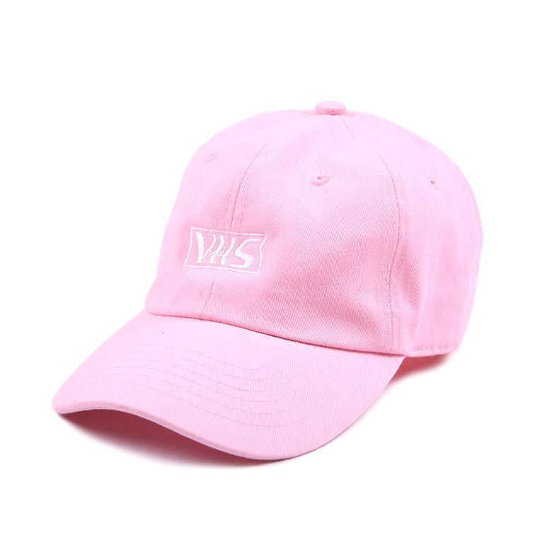 Image of VHS Low Profile Sports Cap - Pink