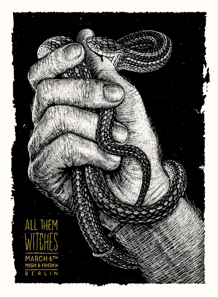Image of »All Them Witches« Gig-Poster