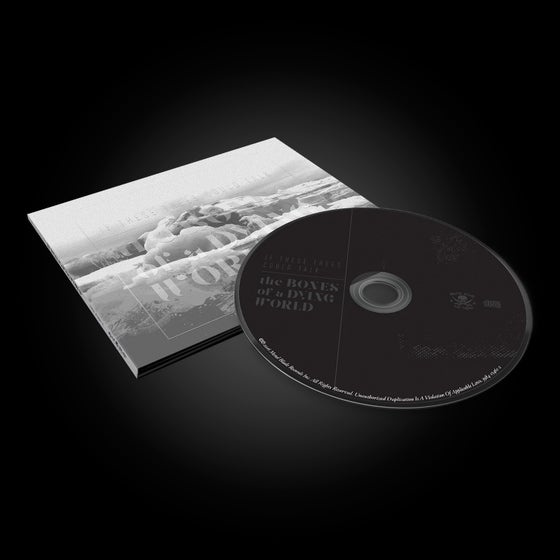 Image of CD: THE BONES OF A DYING WORLD DIGIPACK