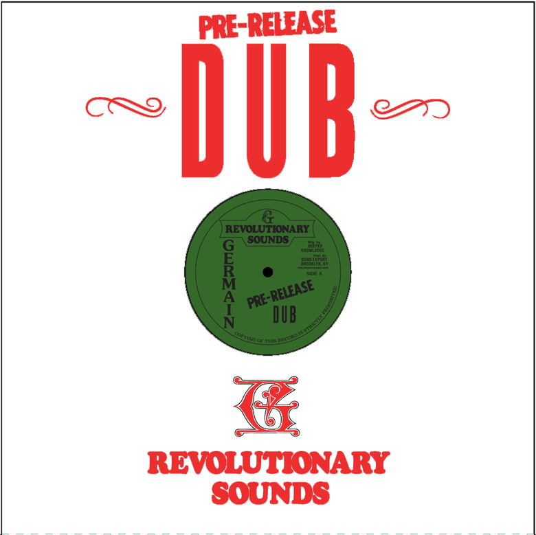 Image of Germain - Pre-Release Dub LP (Germain Revolutionary Sounds)