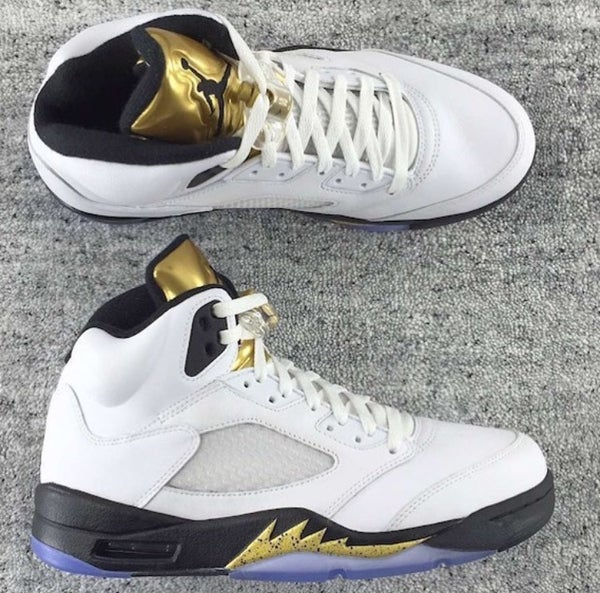 Image of AIR JORDAN 5 OLYMPIC GOLD | GS