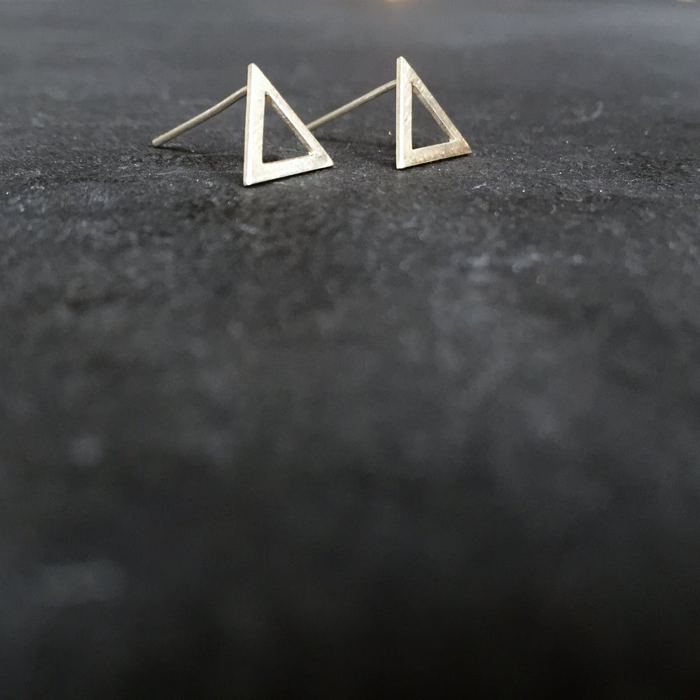 Image of We studs silver