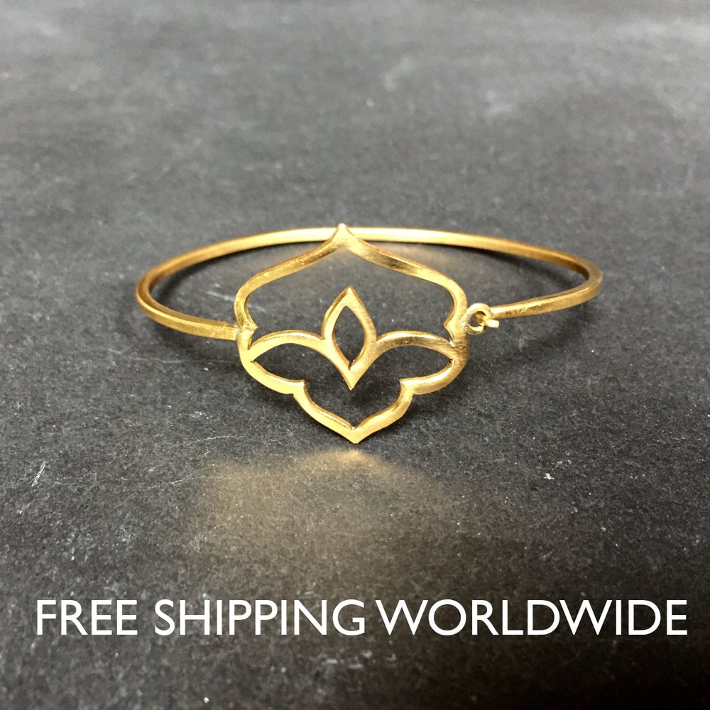 Image of Lotus bracelet