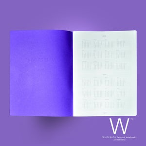 Image of Whitebook Planner/Diary 2017, monthly & weekly, 64 pages