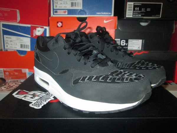 """Air Max 1 Woven """"Black"""" *PRE-OWNED* - FAMPRICE.COM by 23PENNY"""