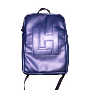 Image of LH Embossed BackPack (Navy Blue)