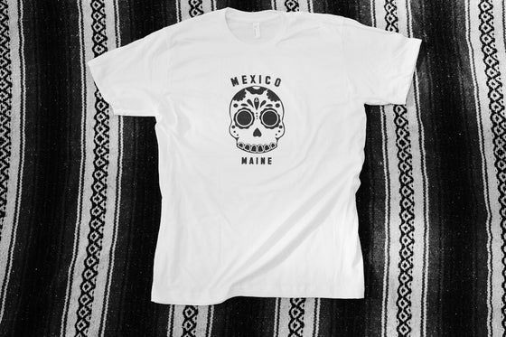 Image of Mexico Maine T-Shirt -White