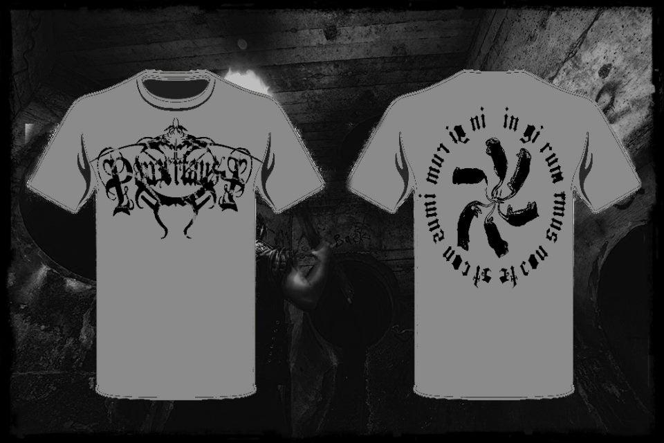 Image of Panzerfaust - Grey 'Rattenkonig.. In girum Imus nocte...' T-shirt
