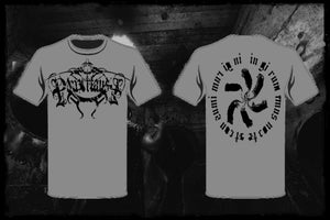Image of Panzerfaust - Grey 'Rattenkonig.. In girum Imus nocte...' T-shirt