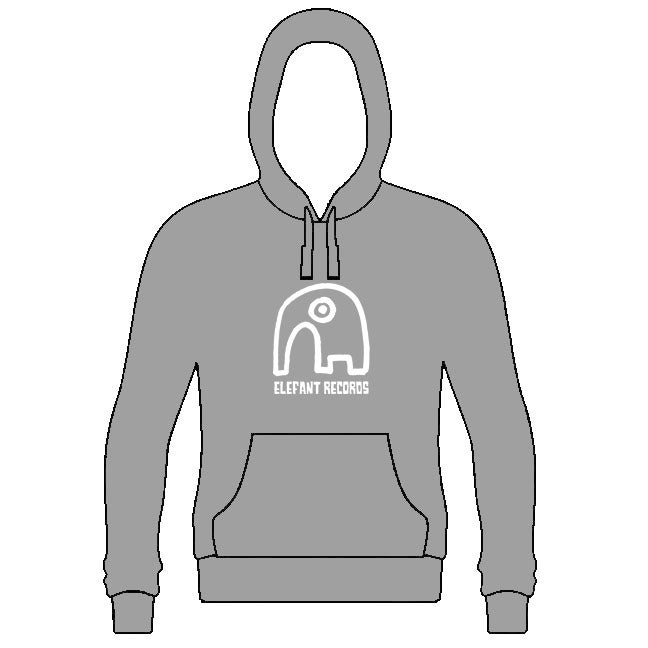Image of ELEFANT HOODIE: GREY (Various sizes)