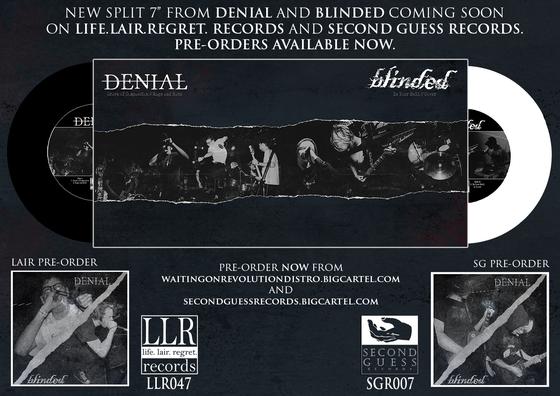 "Image of LLR047 DENIAL / BLINDED SPLIT 7"""