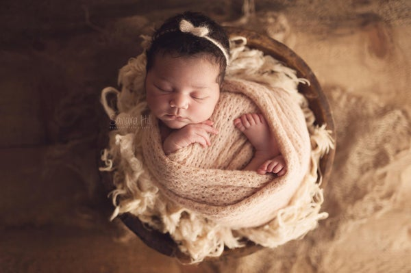 Image of Gabriela knit stretch wrap