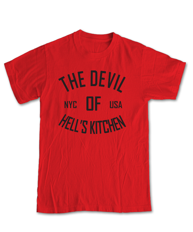 Image of FIGHT SERIES #2: THE DEVIL OF HELL'S KITCHEN
