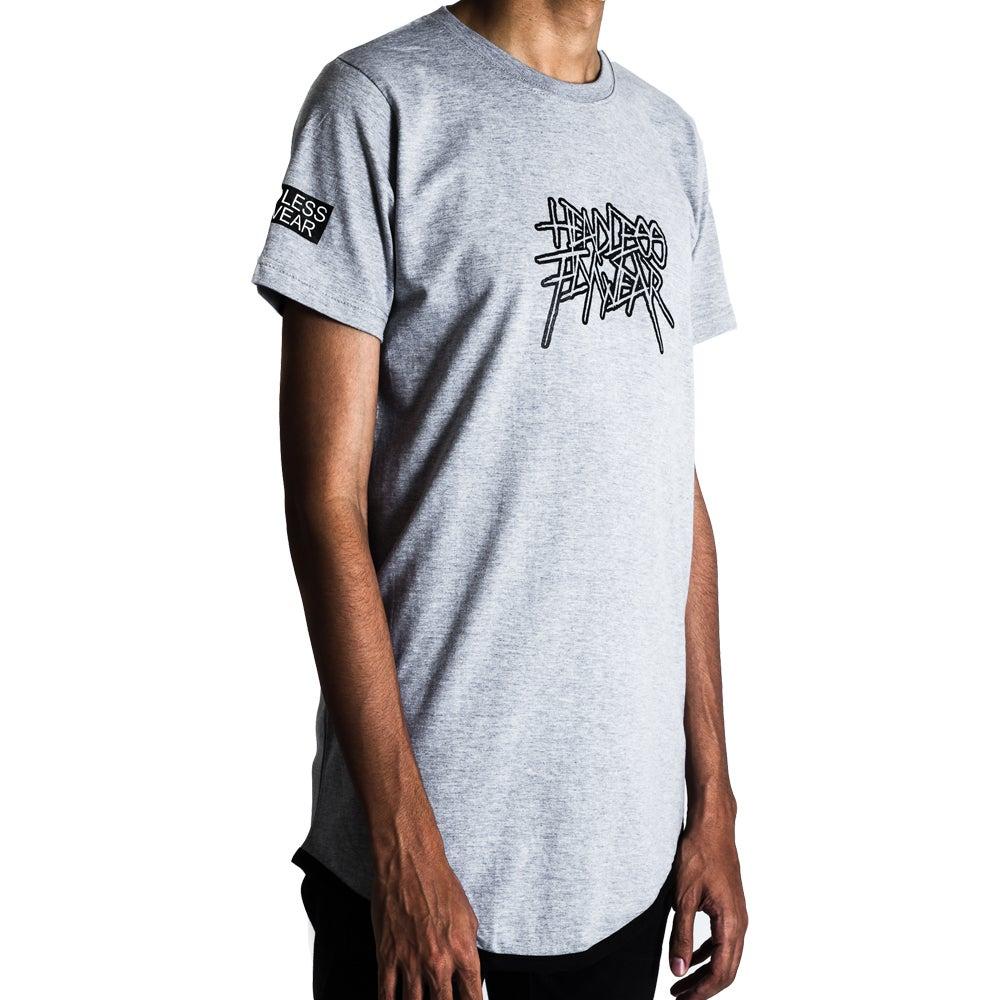 Image of Metal 02 Tshirt Sport Grey