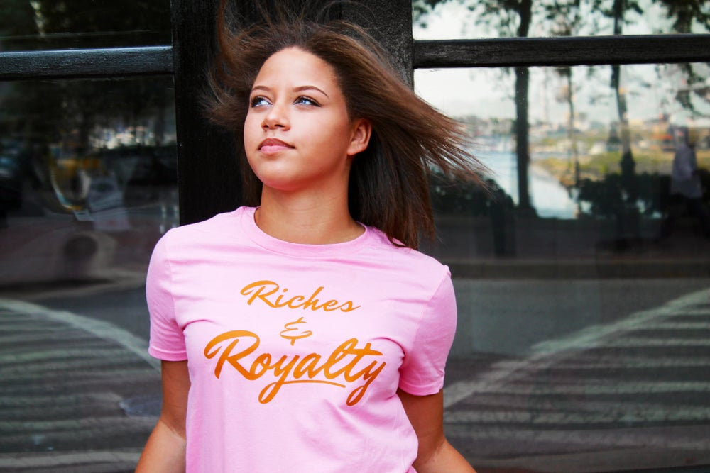 Image of Pink R&R Signature Tee