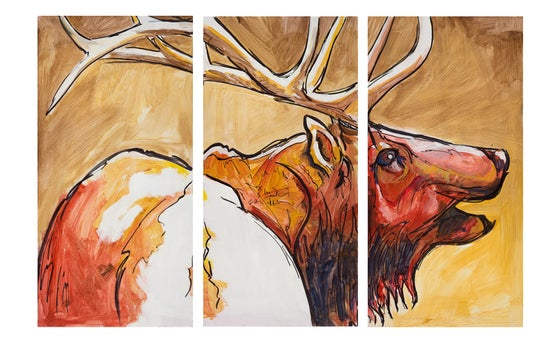 Image of Red Bull Triptych