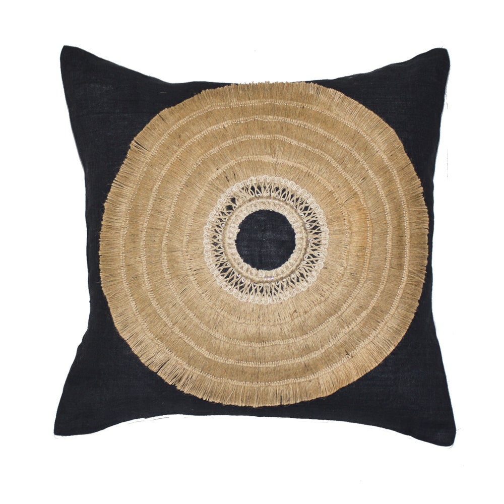 Image of African Black Shield Cushion