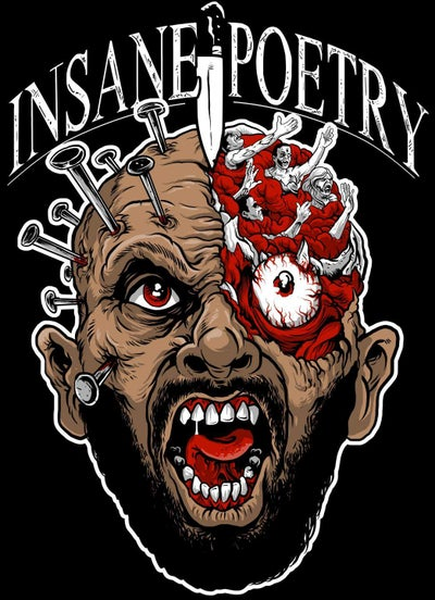 Image of INSANE POETRY - PINHEAD CYCO SHIRT