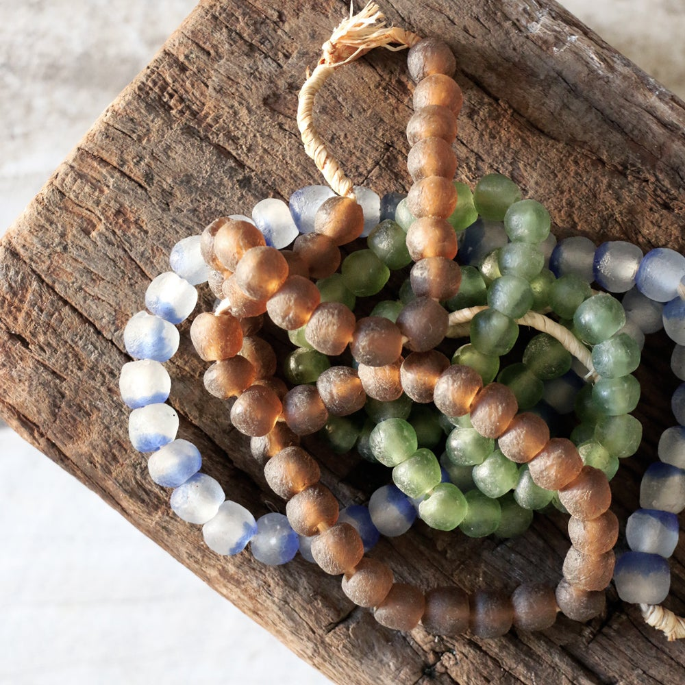 Image of African Glass Beaded Necklace
