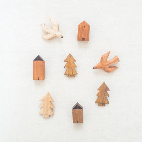 """Image of Brooches <br><span style=""""font-weight:normal""""><em>by Everyday Canoe</em></span>"""