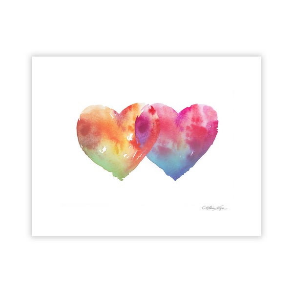 Image of Hearts, Archival Paper Print