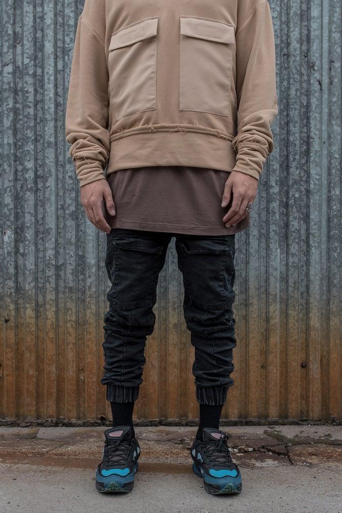 Image of U-F Pocket Stone Washed Pants