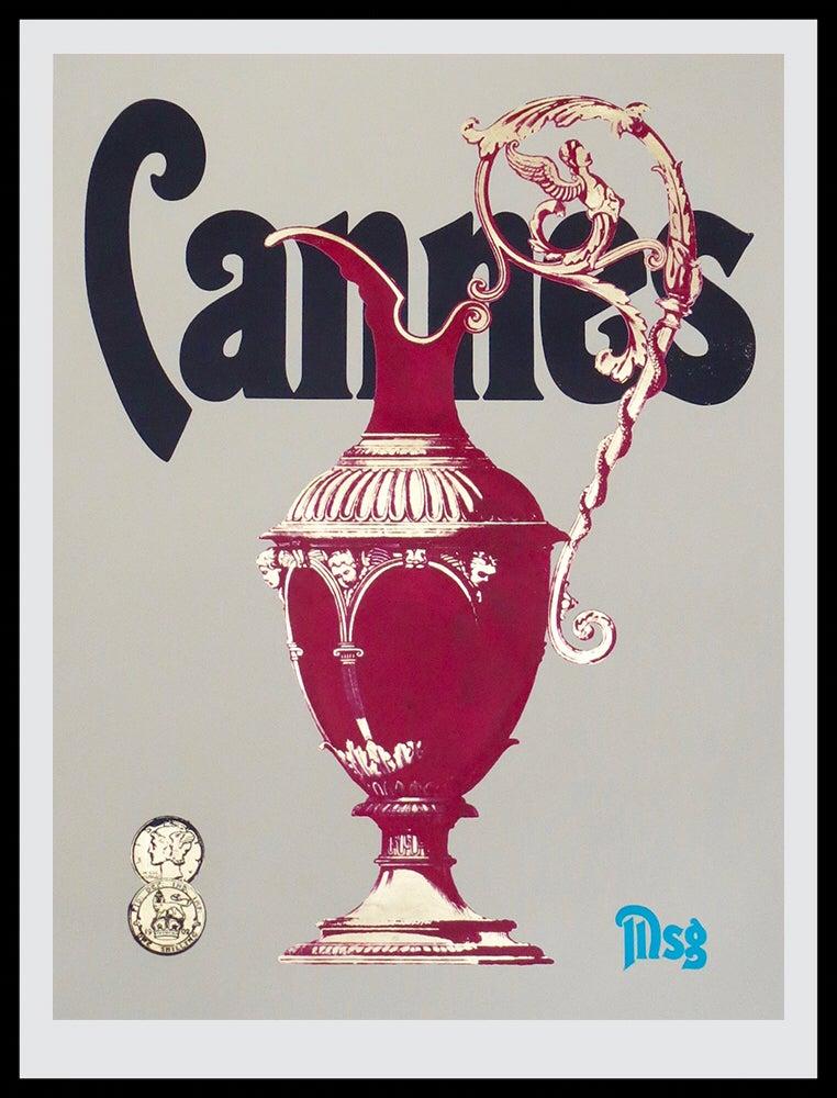 Image of Cannes -Mushroom/Black/Magenta