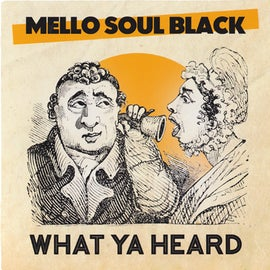 "Image of Mello Soul Black & The Jazz Spastiks - 'What Ya Heard' 7"" (FPI006)"