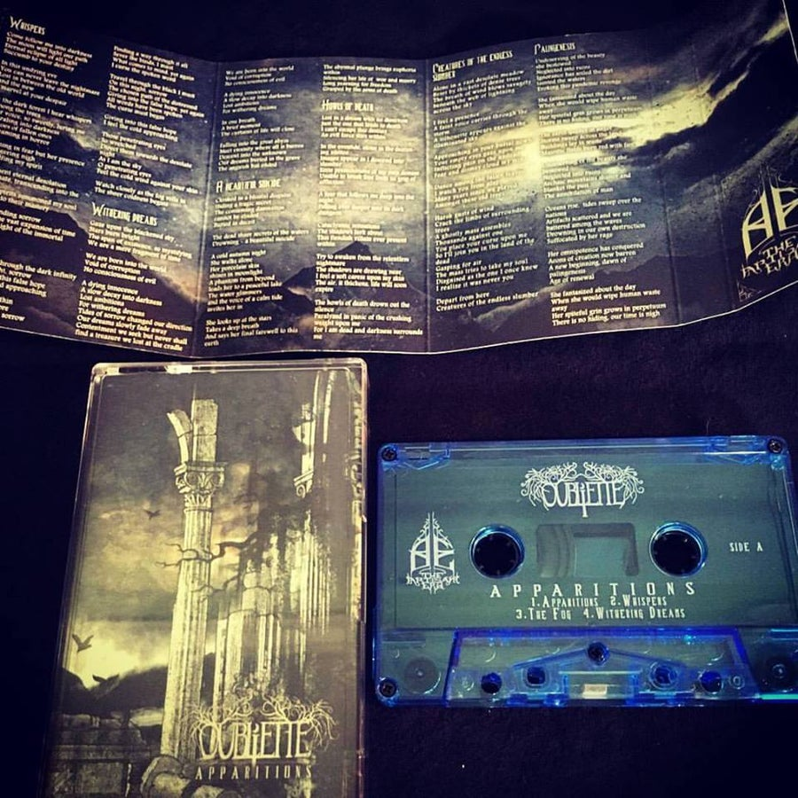 Image of Oubliette - Apparitions cassette
