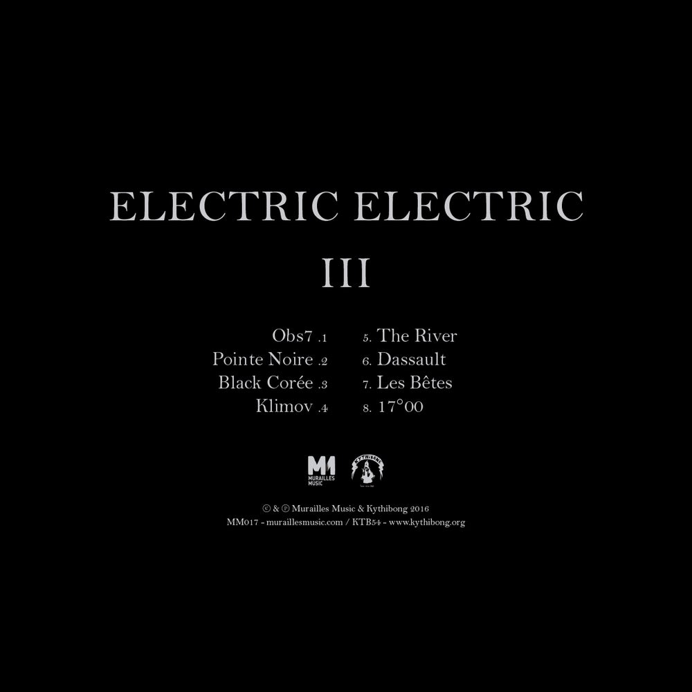 Image of Electric Electric - III (LP + DL card)