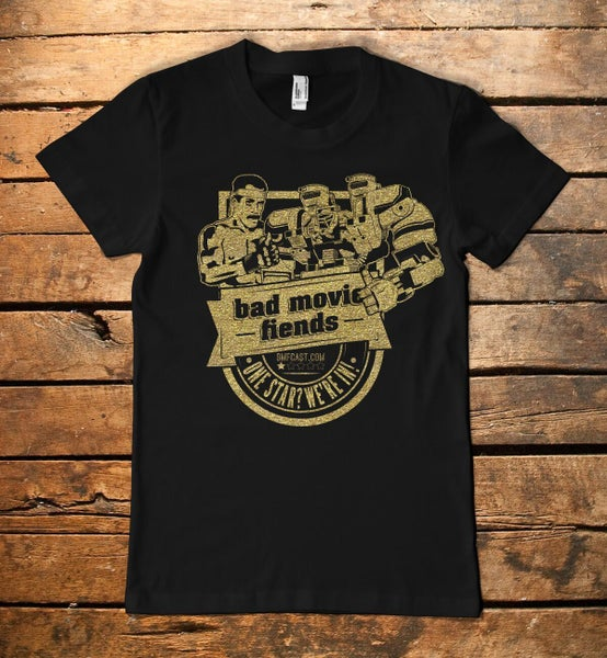 Image of Bad Movie Fiends Official T-Shirt