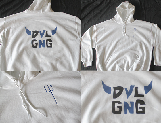 Image of PITCH FORK HOODIE
