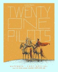 Image of Twenty One Pilots with Mutemath Showbox SEA